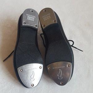 Dance Now Shoes - NWOT Jazz Tap Shoe - Unisex Lace Up